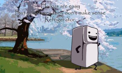 refrigerate haiku